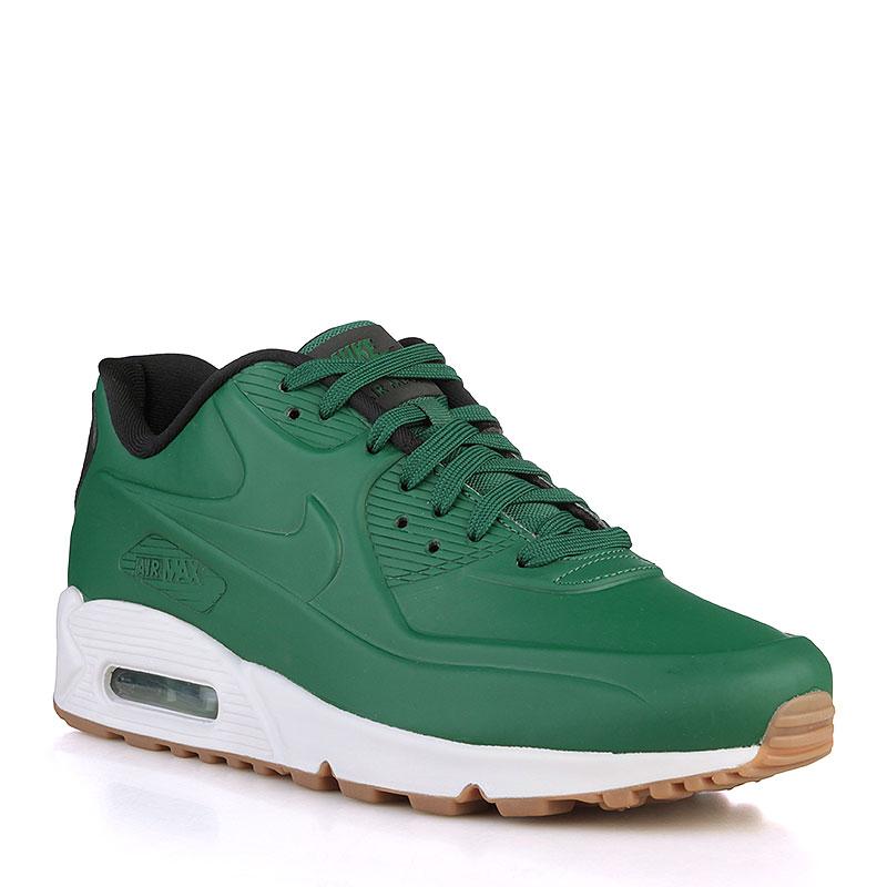 мужские зелёные, чёрные, белые кроссовки nike air max 90 vt qs 831114-300 d32f24ccbcc