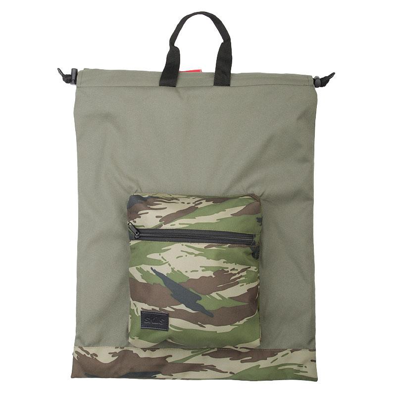 Рюкзак Skills Bagpack KhakiСумки, рюкзаки<br>Полиэстер<br><br>Цвет: Зеленый<br>Размеры : OS