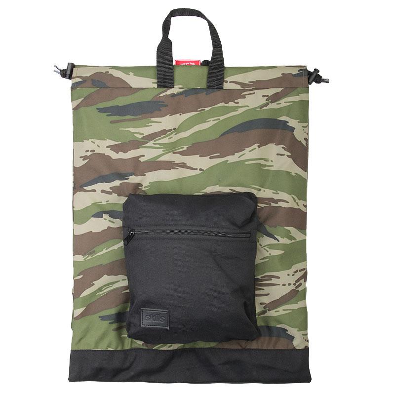 Рюкзак Skills Bagpack CamoСумки, рюкзаки<br>Полиэстер<br><br>Цвет: Камуфляж<br>Размеры : OS