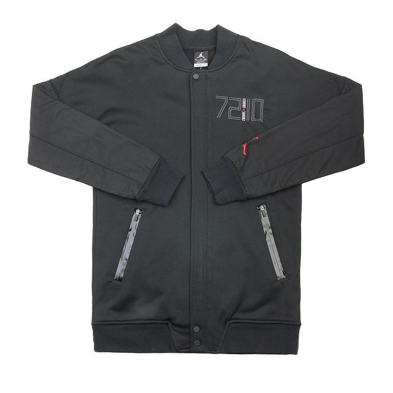 Куртка Jordan AJ XI VarsityКуртки, пуховики<br>Полиэстер<br><br>Цвет: Черный<br>Размеры US: S;XL