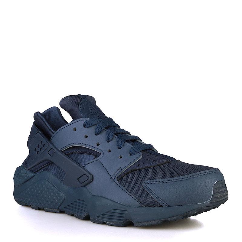 Кроссовки Nike Sportswear Air HuaracheКроссовки lifestyle<br>Кожа, текстиль, резина<br><br>Цвет: Синий<br>Размеры US: 8;8.5;10;11;11.5<br>Пол: Мужской