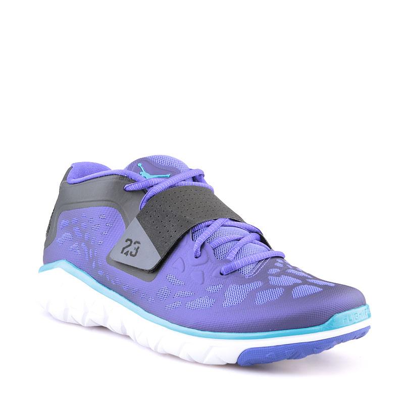 Кроссовки Jordan Flight FlexКроссовки баскетбольные<br>Синтетика,текстиль,резина<br><br>Цвет: Фиолетовый<br>Размеры US: 8;9;9.5;11.5;14<br>Пол: Мужской