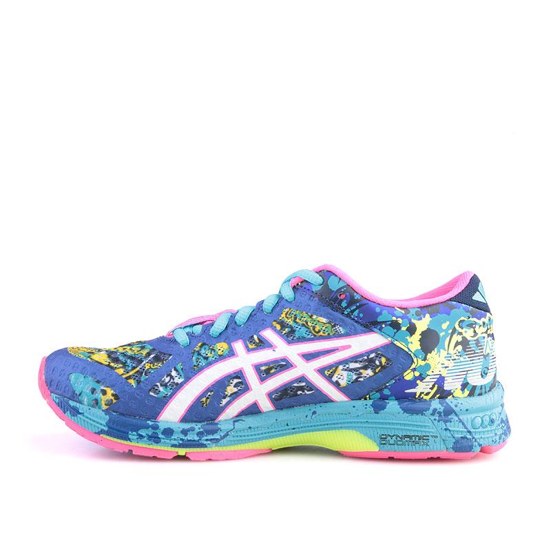 Купить женские голубые  кроссовки asics tiger gel noosa tri 11 в магазинах Streetball изображение - 3 картинки