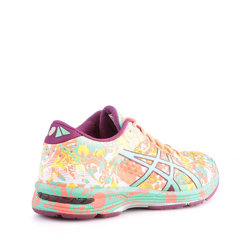 Купить женские кораловые  кроссовки asics tiger gel noosa tri 11 в магазинах Streetball изображение - 2 картинки