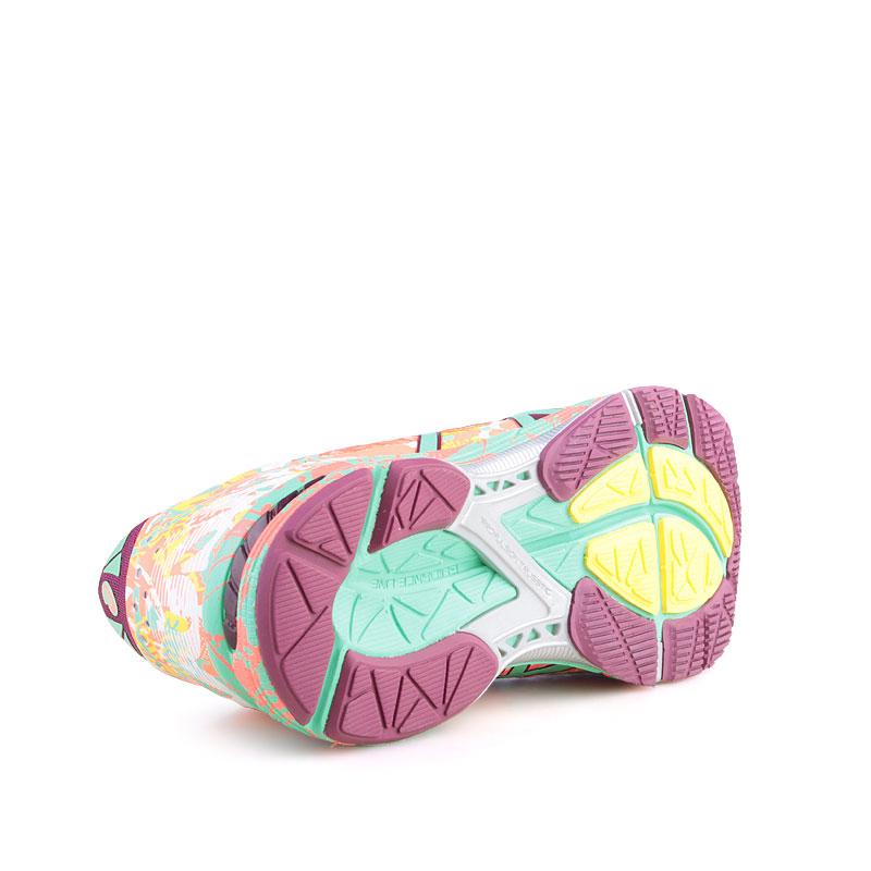 Купить женские кораловые  кроссовки asics tiger gel noosa tri 11 в магазинах Streetball изображение - 4 картинки