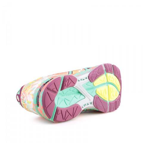 женские кораловые  кроссовки asics tiger gel noosa tri 11 T676N-0687 - цена, описание, фото 4