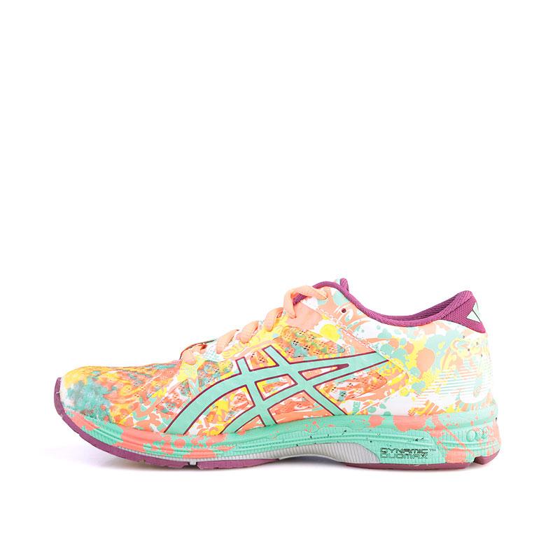 Купить женские кораловые  кроссовки asics tiger gel noosa tri 11 в магазинах Streetball изображение - 3 картинки