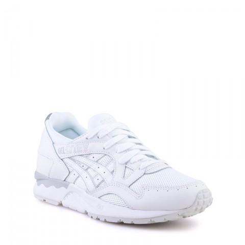 Купить мужские белые  кроссовки asics tiger gel-lyte v в магазинах Streetball - изображение 1 картинки