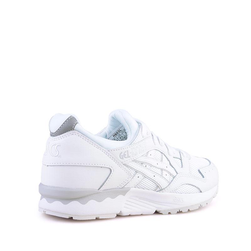 Купить мужские белые  кроссовки asics tiger gel-lyte v в магазинах Streetball изображение - 2 картинки