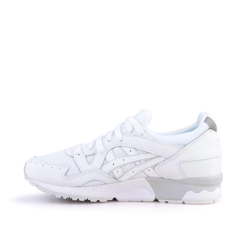 Купить мужские белые  кроссовки asics tiger gel-lyte v в магазинах Streetball изображение - 3 картинки