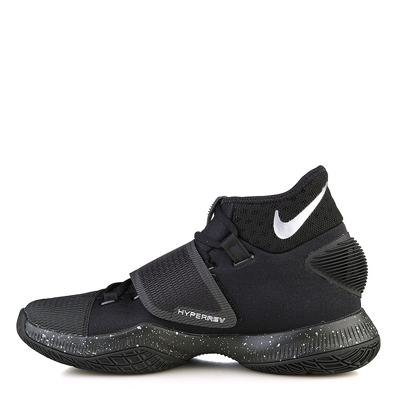 мужские черные  кроссовки nike zoom hyperrev 2016 820224-001 - цена, описание, фото 3