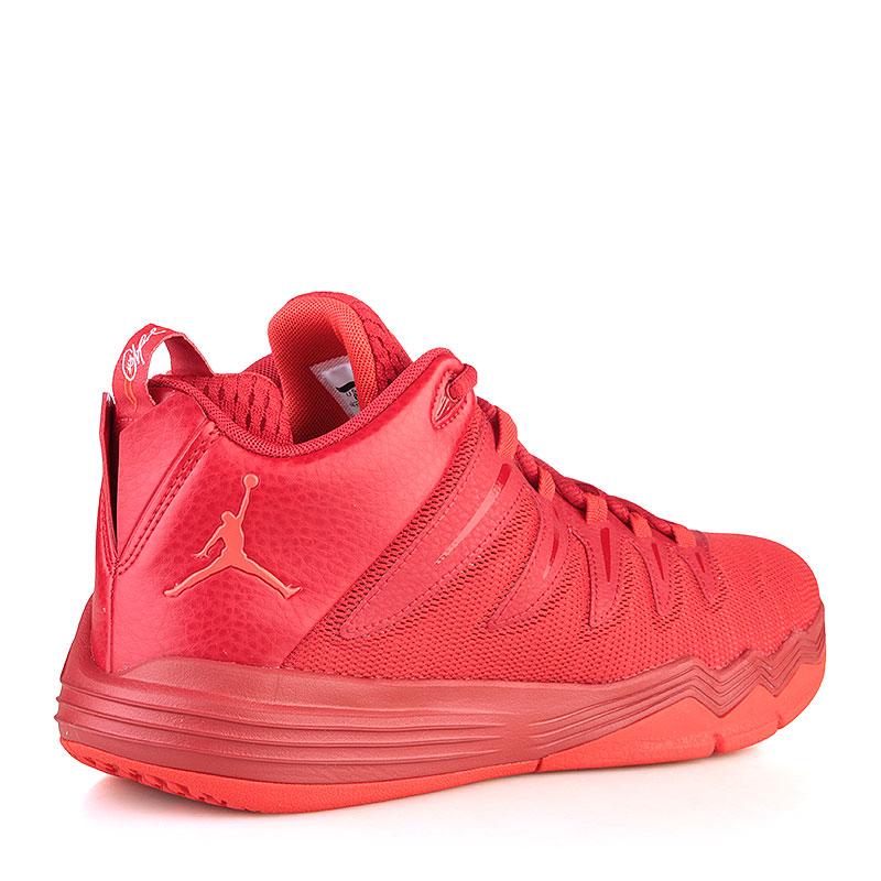 Купить мужские красные  кроссовки jordan cp3.ix в магазинах Streetball изображение - 2 картинки