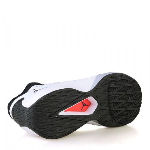 мужские черные, белые, серые  кроссовки jordan rising high 768931-107 - цена, описание, фото 4