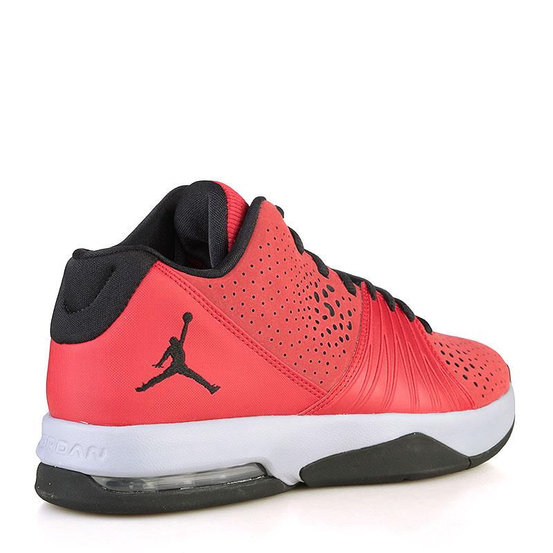 Купить мужские красные, текстиль, резина  кроссовки jordan 5 am в магазинах Streetball изображение - 2 картинки