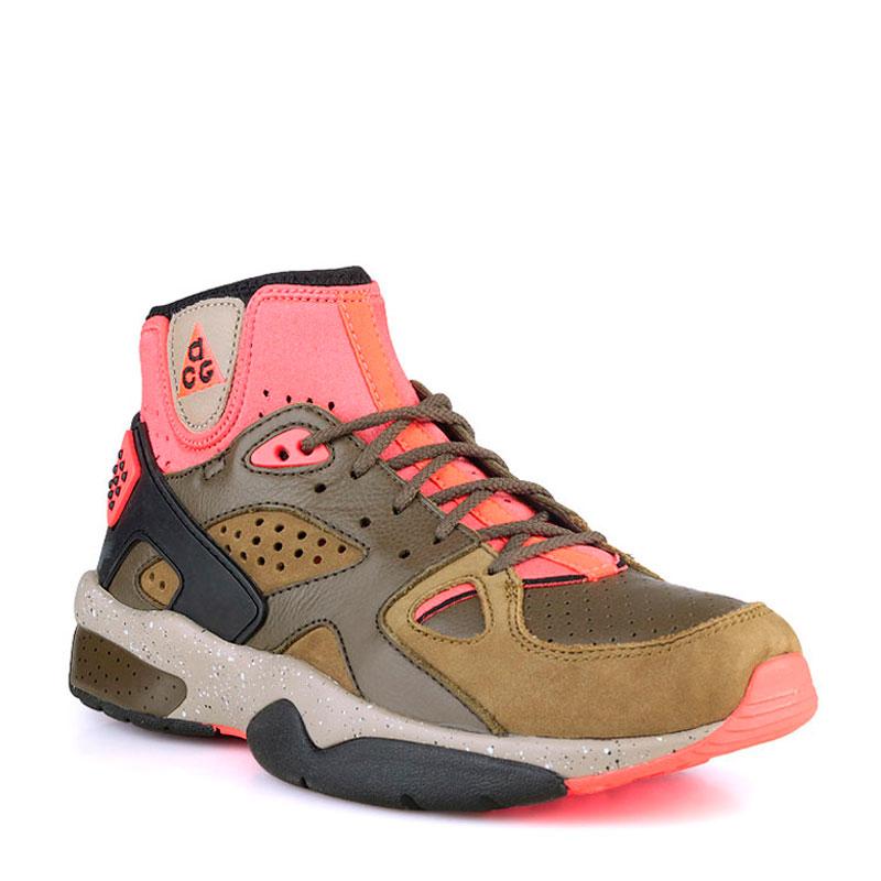 Кроссовки Nike Mowabb OGКроссовки lifestyle<br>Синтетика,кожа,текстиль,резина<br><br>Цвет: Бежевый<br>Размеры US: 9<br>Пол: Мужской