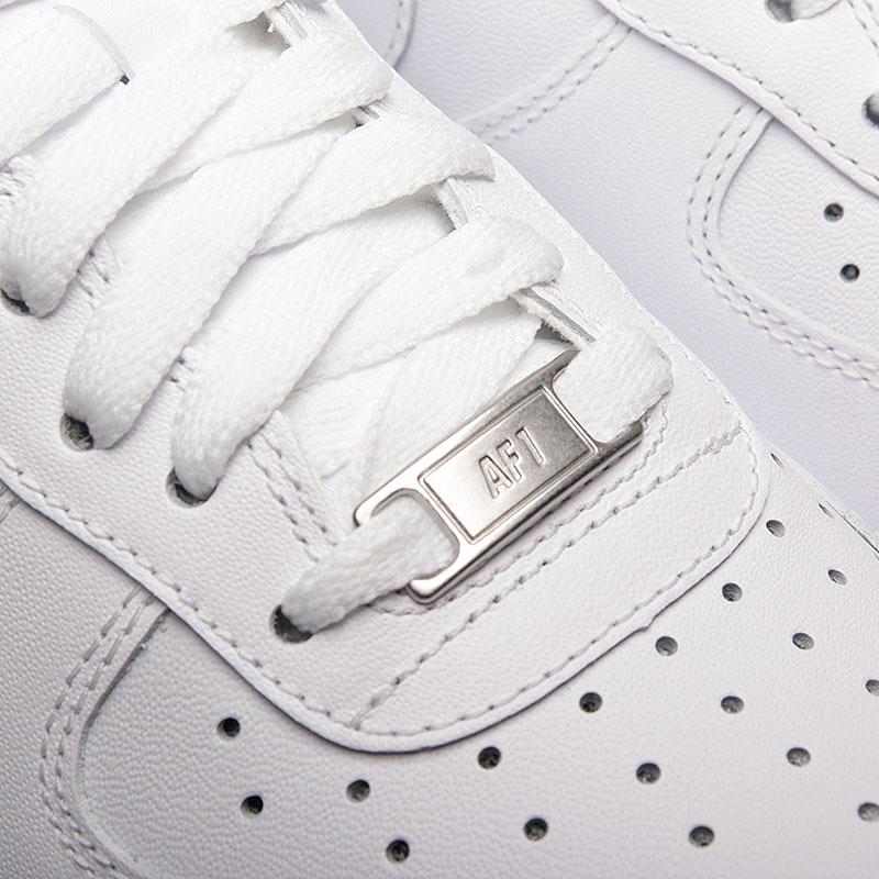 d6a9cef767b7 мужские белые кроссовки nike air force 1 `07 315122-111 - цена, описание
