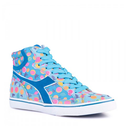 Купить женские голубые  кроссовки diadora condor zp fruit в магазинах Streetball - изображение 1 картинки