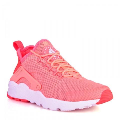 Купить женские коралловые, белые  кроссовки nike wmns air huarache run ultra в магазинах Streetball - изображение 1 картинки
