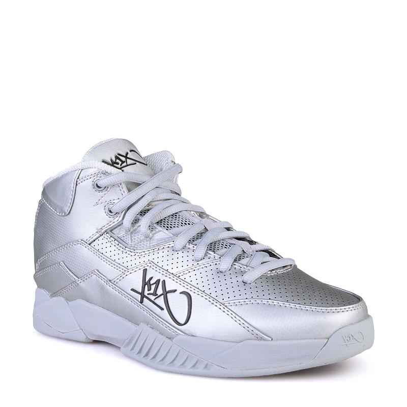 Кроссовки K1X Anti GravityКроссовки баскетбольные<br>Синтетика,текстиль,резина<br><br>Цвет: Серебряный<br>Размеры US: 8;9;11.5<br>Пол: Мужской