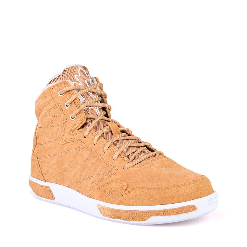 Ботинки K1X H1top LEКроссовки lifestyle<br>Текстиль,резина<br><br>Цвет: Коричневый<br>Размеры US: 7.5;8;8.5;9;11;11.5;12<br>Пол: Мужской