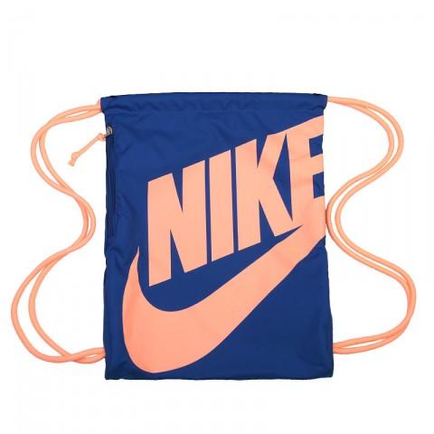 Купить синий  мешок nike heritage drawstring backpack в магазинах Streetball - изображение 1 картинки