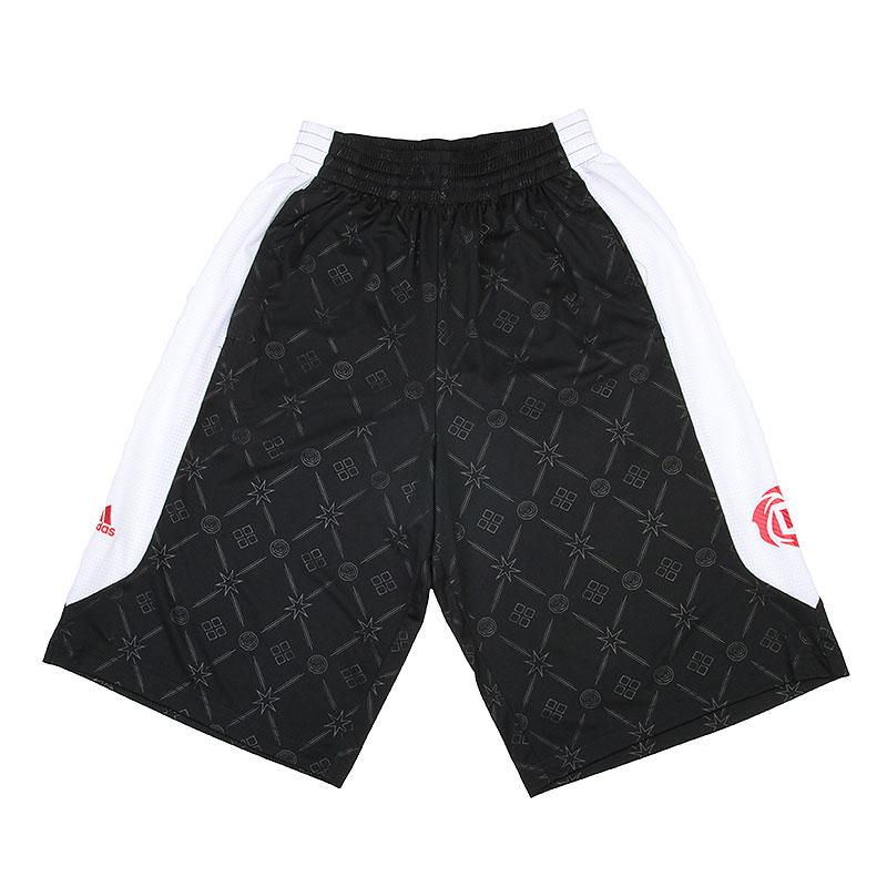 Шорты adidas Rose Link ShortШорты<br>Полиэстер<br><br>Цвет: Черный, белый<br>Размеры UK: XL;2XL