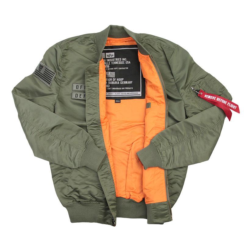мужскую зеленую  куртку k1x x alpha ma 1 jacket 4153-1100/3343 - цена, описание, фото 2
