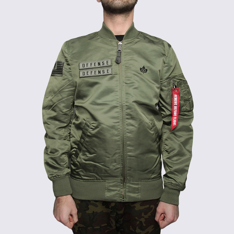 мужскую зеленую  куртку k1x x alpha ma 1 jacket 4153-1100/3343 - цена, описание, фото 5