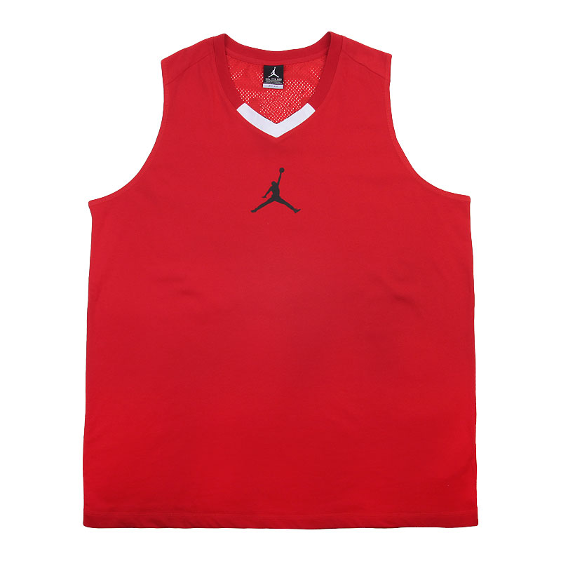 Купить мужскую красную  майку jordan rise 4 jersey в магазинах Streetball изображение - 1 картинки
