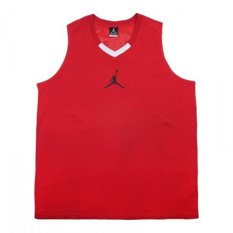 Купить мужскую красную  майку jordan rise 4 jersey в магазинах Streetball - изображение 1 картинки