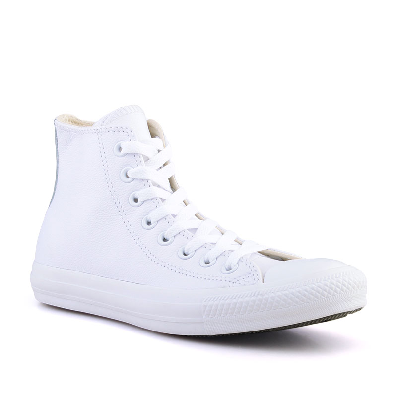 Купить мужские белые  кеды converse  в магазинах Streetball изображение - 1 картинки