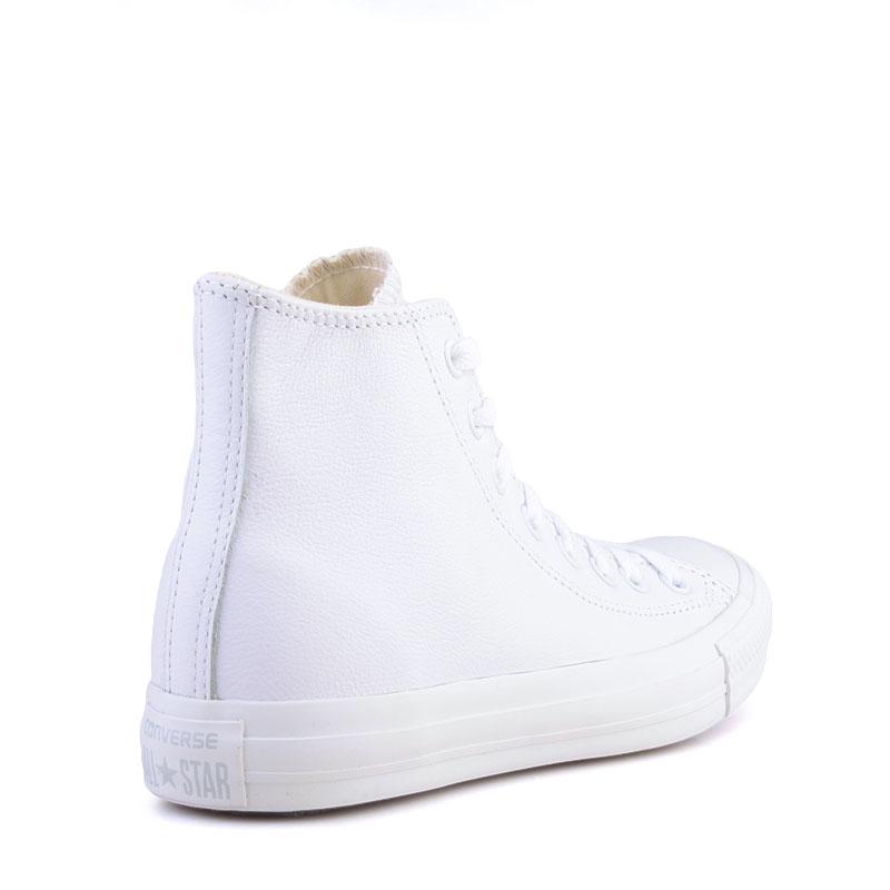Купить мужские белые  кеды converse  в магазинах Streetball изображение - 2 картинки