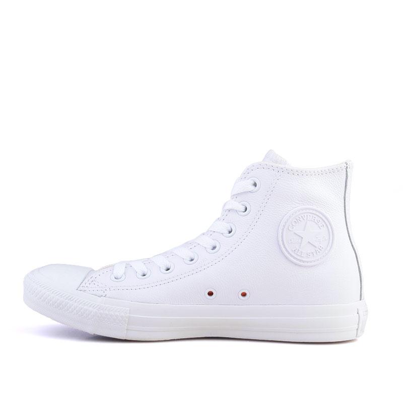 Купить мужские белые  кеды converse  в магазинах Streetball изображение - 3 картинки