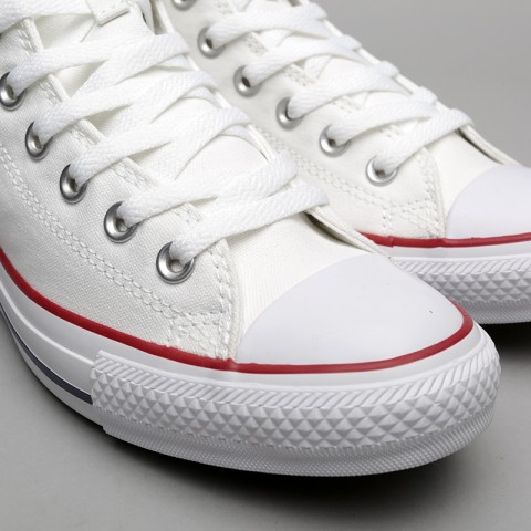 белые  кеды converse all star hi M7650 - цена, описание, фото 4