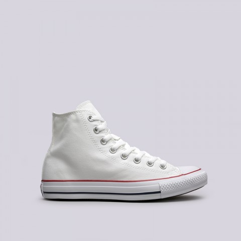белые  кеды converse all star hi M7650 - цена, описание, фото 1