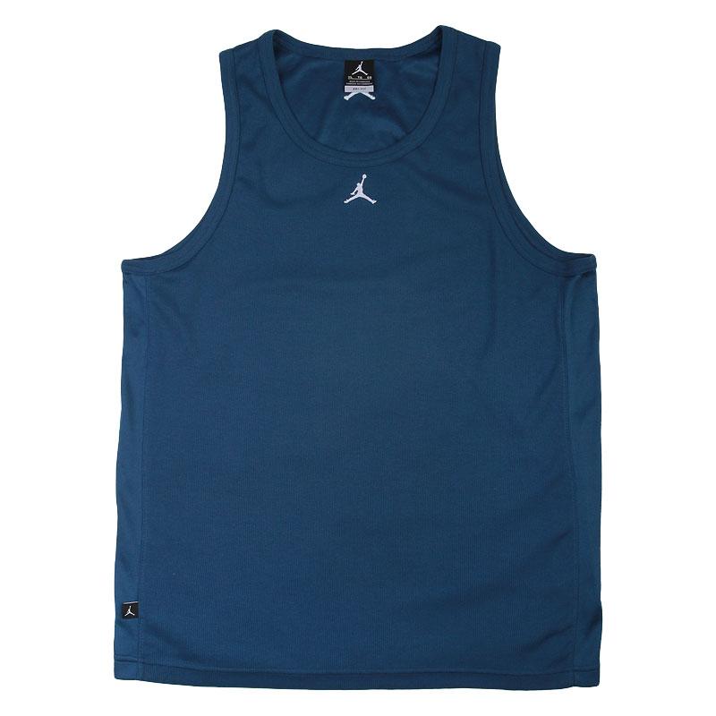 мужскую синюю  майку jordan buzzer beater 589114-442 - цена, описание, фото 1
