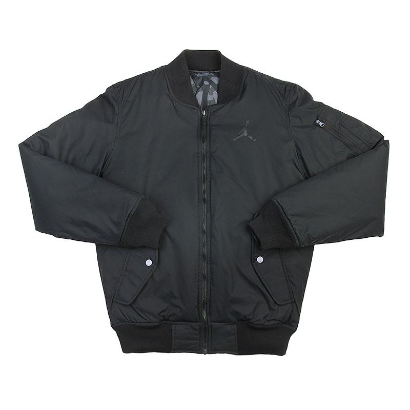 Куртка Jordan Fly JacketКуртки, пуховики<br>Нейлон, полиэстер<br><br>Цвет: Черный, серый<br>Размеры US: S