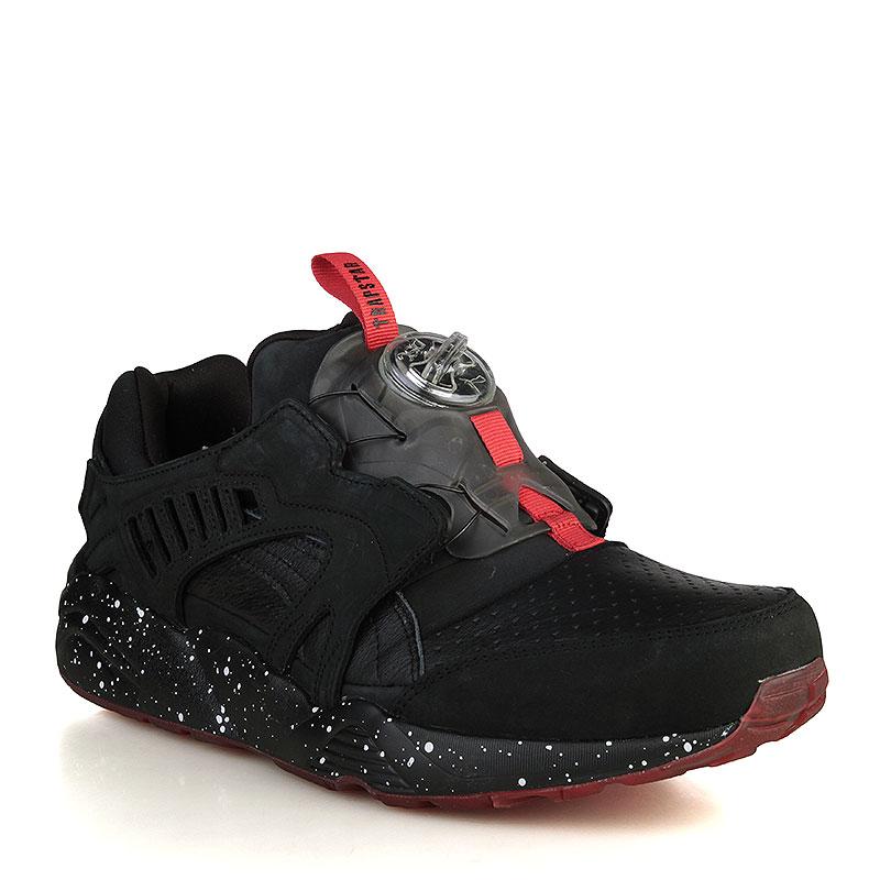 мужские черные, красные кроссовки puma trapstar x disc blaze 36165101 -  цена, описание, ae9724c70c6