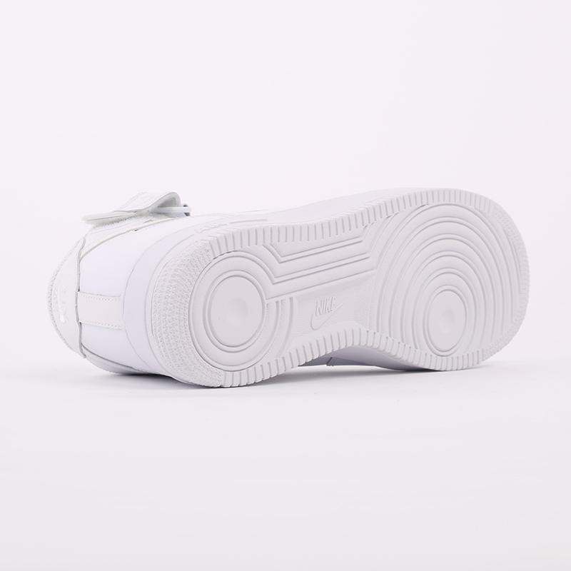 мужские белые  кроссовки nike air force 1 mid`07 315123-111 - цена, описание, фото 4