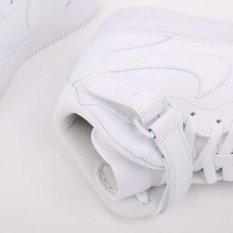 мужские белые  кроссовки nike air force 1 mid`07 315123-111 - цена, описание, фото 8