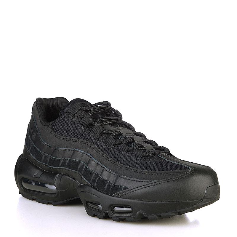 мужские черные кроссовки nike air max 95 essential 749766-009 - цена,  описание, 4456616a3c2
