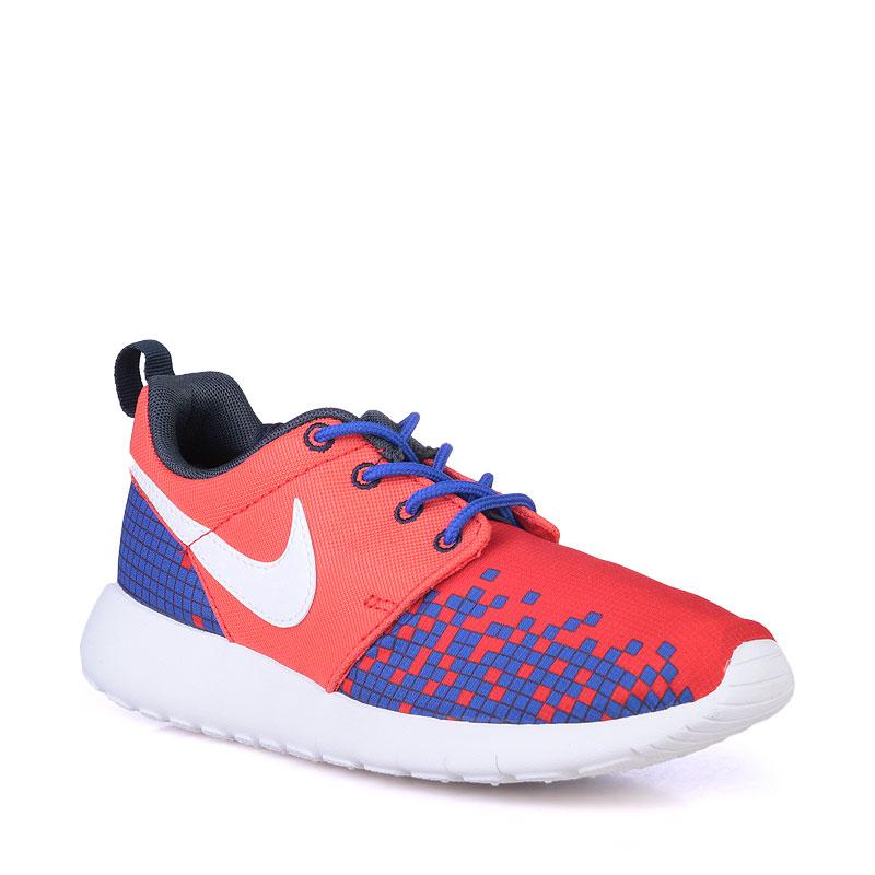 Кроссовки Nike sportswear Roshe One PrintКроссовки lifestyle<br>Текстиль,резина<br><br>Цвет: Синий<br>Размеры US: 3.5Y;4.5Y;4Y;5.5Y;5Y;6.5Y;6Y;7Y