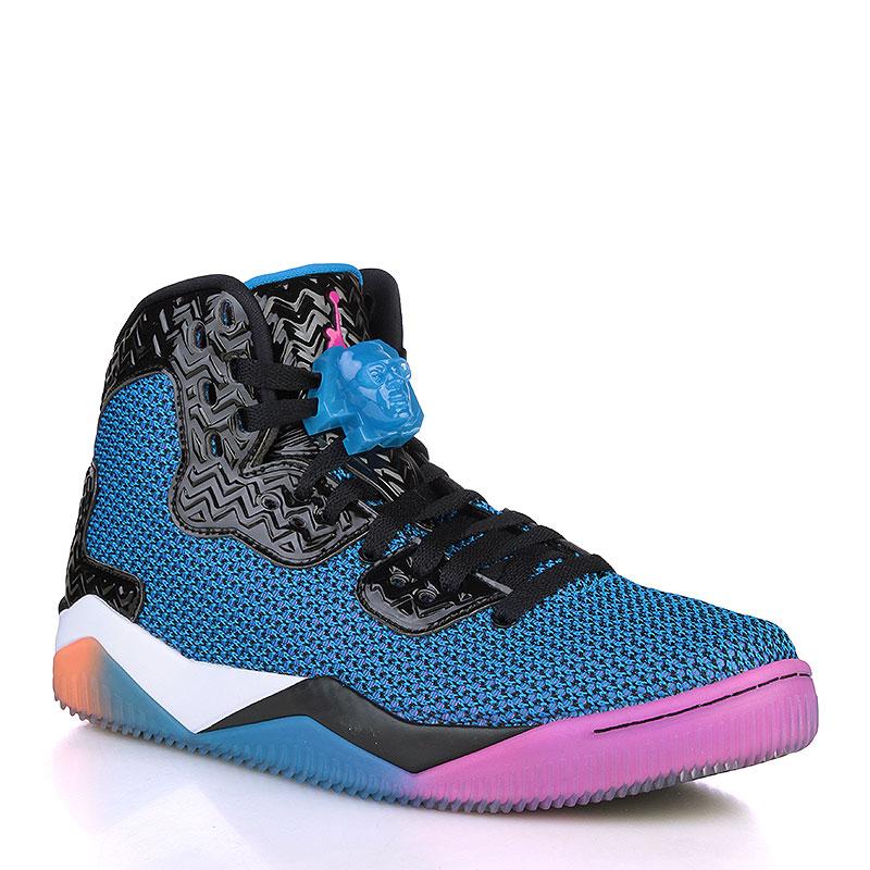 Кроссовки Air Jordan Spike FortyКроссовки lifestyle<br>Текстиль, резина<br><br>Цвет: Чёрный, синий, белый, оранжевый, малиновый<br>Размеры US: 8;10;11<br>Пол: Мужской