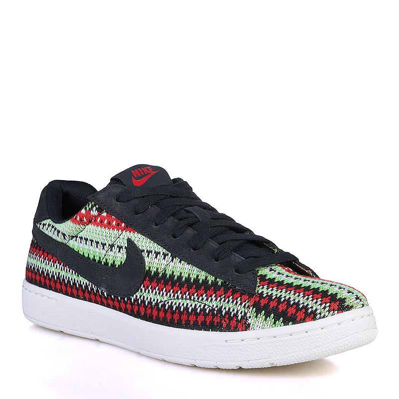 Кроссовки Nike Sportswear Tennis Classic Ultra QSКроссовки lifestyle<br>Кожа, текстиль, резина<br><br>Цвет: Тёмно-синий, красный, зелёный, белый<br>Размеры US: 8<br>Пол: Мужской