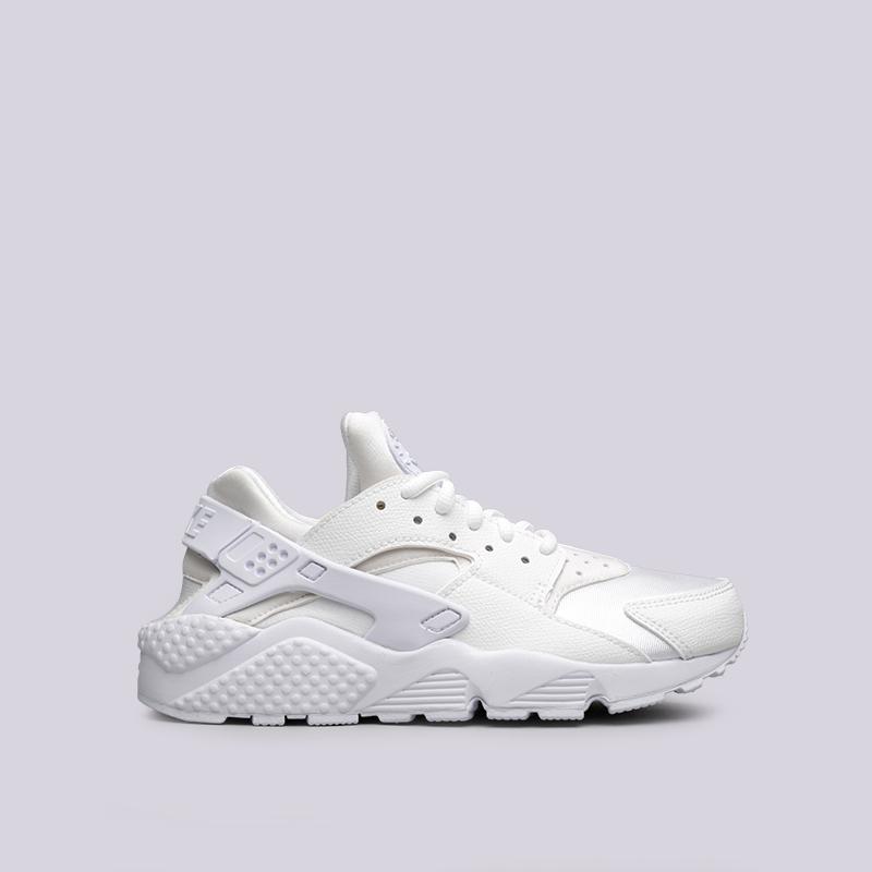 Купить женские белые  кроссовки nike wmns air huarache run в магазинах Streetball изображение - 1 картинки