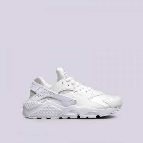женские белые  кроссовки nike wmns air huarache run 634835-108 - цена, описание, фото 1