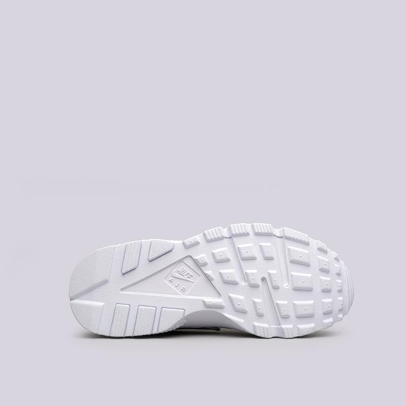 Купить женские белые  кроссовки nike wmns air huarache run в магазинах Streetball изображение - 2 картинки