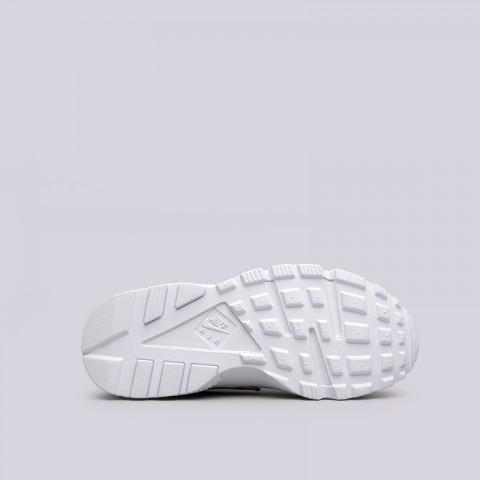 женские белые  кроссовки nike wmns air huarache run 634835-108 - цена, описание, фото 2