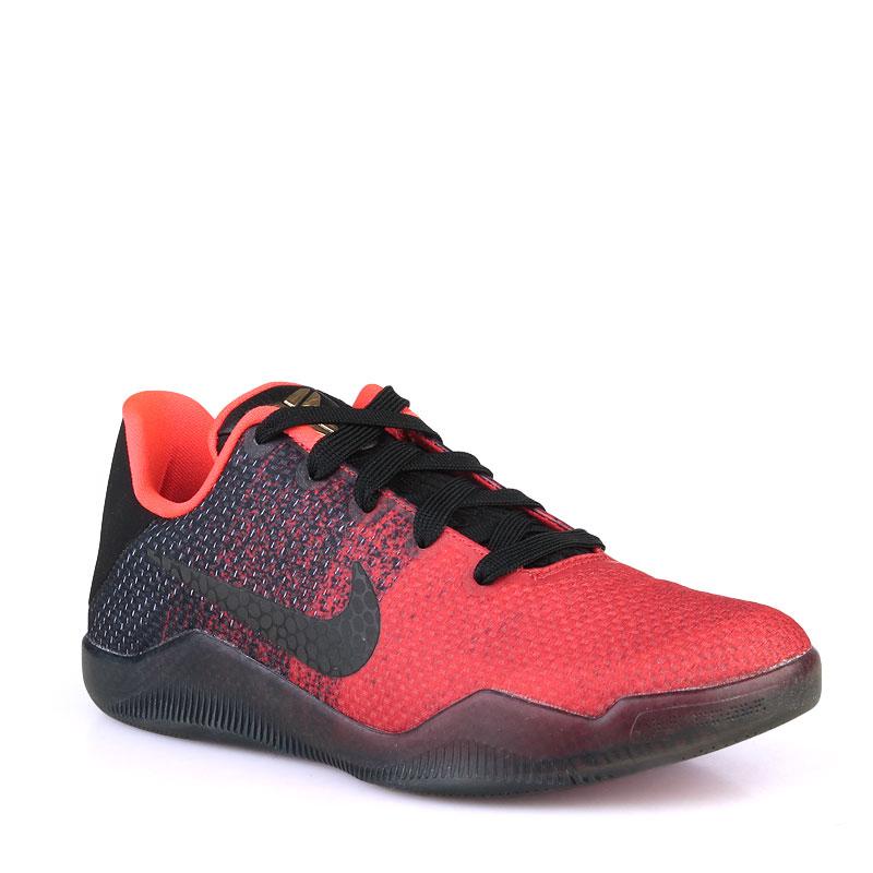 Кроссовки Nike Kobe XI Elite LowКроссовки баскетбольные<br>Синтетика,текстиль,резина<br><br>Цвет: Красный<br>Размеры US: 3.5Y;4Y;4.5Y;5.5Y;7Y<br>Пол: Детский