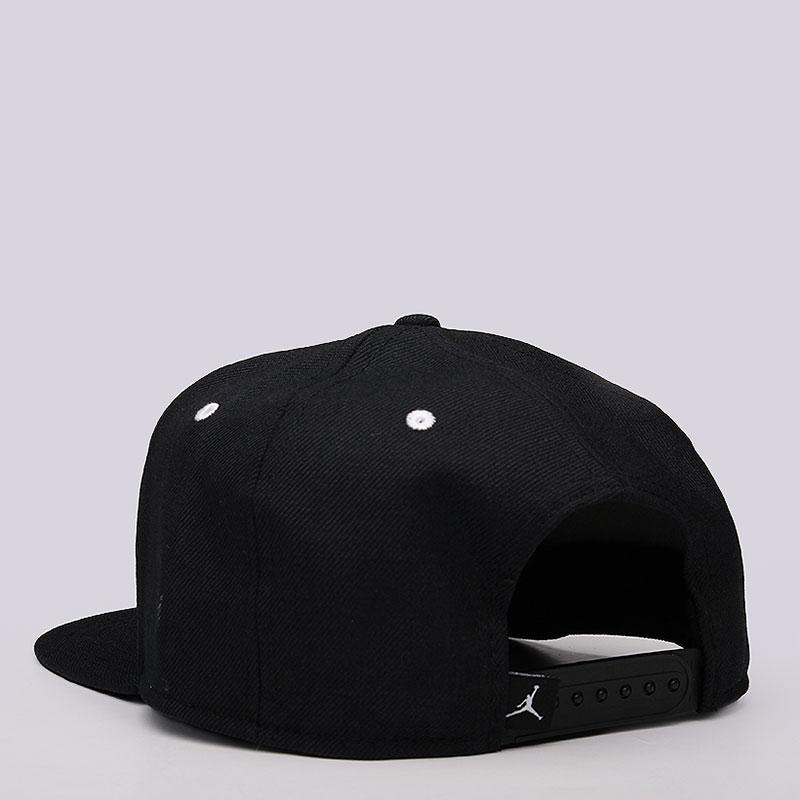 Купить мужскую черную  кепка jordan jordan jumpman snapback в магазинах Streetball изображение - 3 картинки
